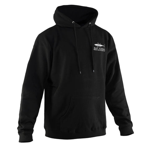 Grundens Men's Eat Tuna Hoodie, Black