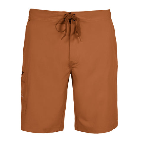 Grundens Men's Fish Head Board Short, Burnt Orange