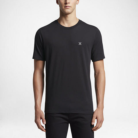 Hurley Men's Dri-Fit Icon T-Shirt, Black