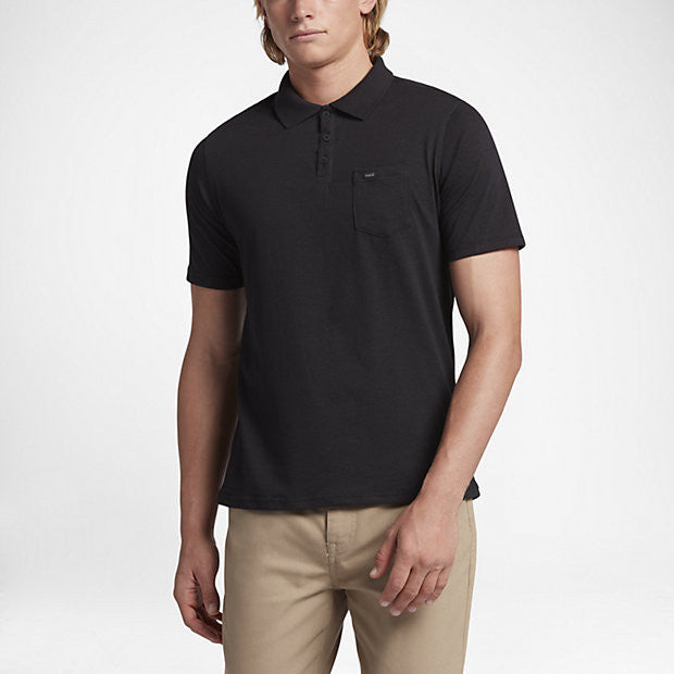 14a55448 Hurley MKT0005450 Men's Dri-Fit Lagos Polo | Outdoor Equipped