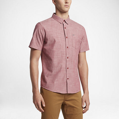 Hurley Men's One And Only Short Sleeve, Cedar