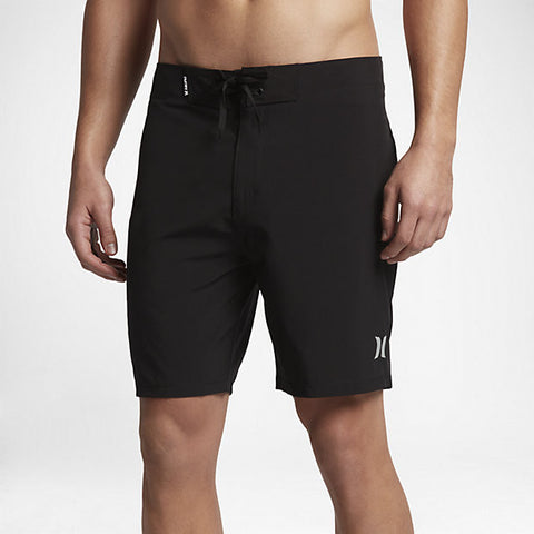 "Hurley Men's Phantom One And Only 18"" Boardshort, Black"