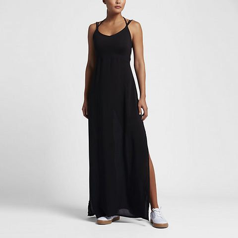 Hurley Women's Ruby Maxi Dress, Black