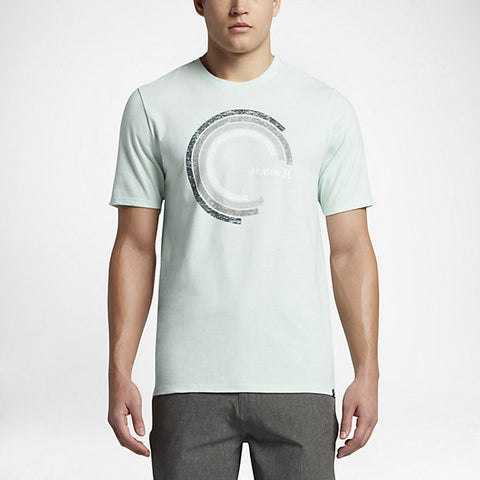 Hurley Men's Spectrum T-Shirt, Cool Mint Heather