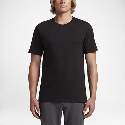 Hurley Men's Staple T-Shirt, Black