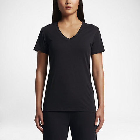 Hurley Women's Staple Perfect V T-Shirt, Black