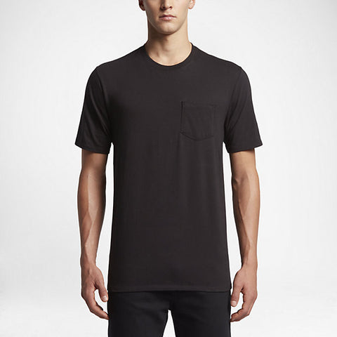 Hurley Men's Staple Pocket T-Shirt, Black