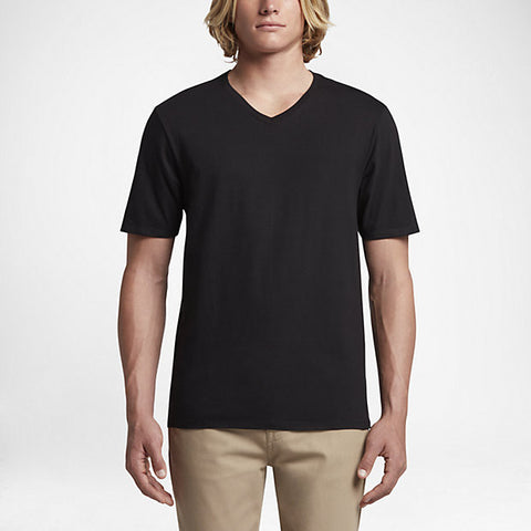 Hurley Men's Staple V-Neck T-Shirt, Black