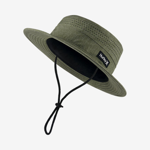 Hurley Men's Surfari Hat, Palm Green