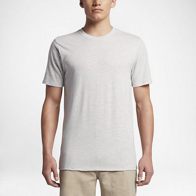 Hurley Men's Tri-Blend Staple T-Shirt, Birch Heather