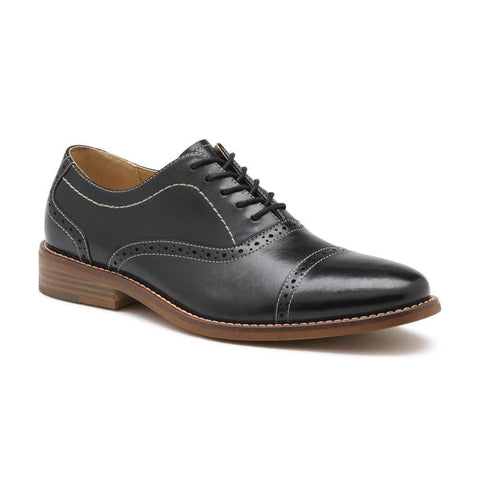 G.H. Bass & Co. Men's Carnell Cap Toe Oxford