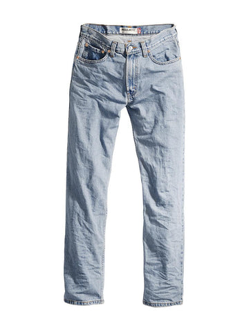 Levi's® Men's 505 Regular Fit Jeans, Light Stonewash