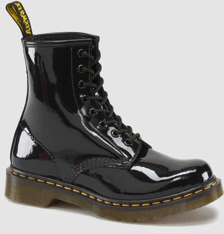 Dr. Martens Women's 1460 W Patent Lamper 8 Eye Boot