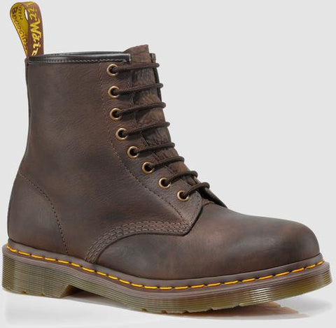 Dr. Martens Men's 1460 8-Eye Boot,Bark Grizzly,UK 9.5 M Bark