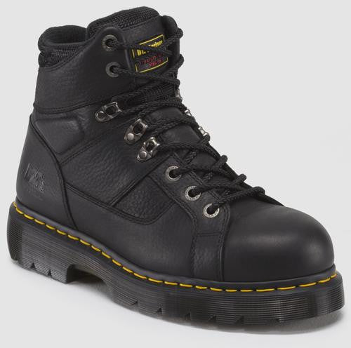 Dr. Martens Men's Ironbridge Ew Industrial Grizzly St Ew 8 Tie Lace To Toe Boot