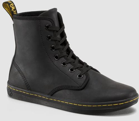 Dr. Martens Women's Shoreditch Greasy Lamper 7 Eye Boot