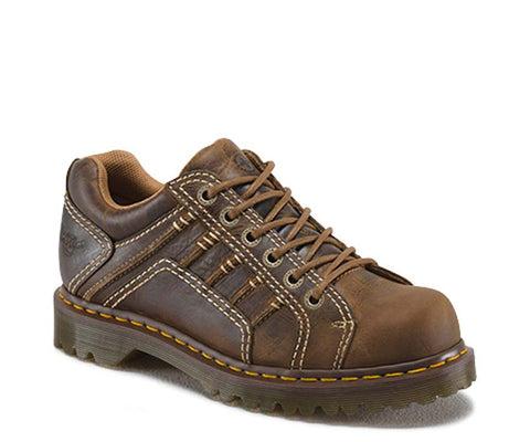 Dr. Martens Men's Keith Greenland 6 Eye Padded Collar Shoe
