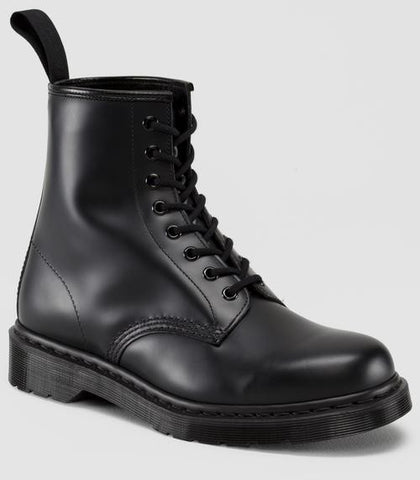 Dr. Martens Men's 1460 Mono Smooth 8 Eye Boot