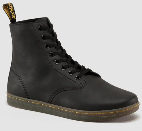 Dr. Martens Men's Tobias Greasy Lamper 8 Eye Boot