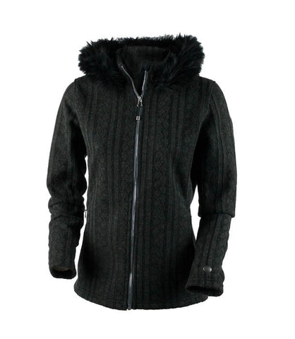 Obermeyer Women's Sadie Cable Knit Jkt