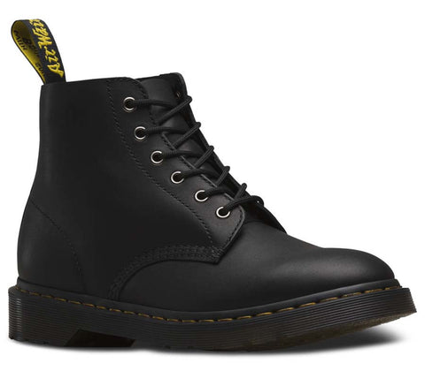 Dr. Martens Unisex Ali Greasy 6 Eye Boot