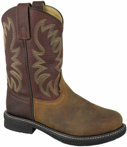 Smoky Mountain Youth Buffalo Leather Boot