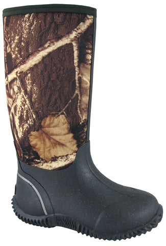 "Smoky Mountain Youth Camo Amphibian 12"" Boot"