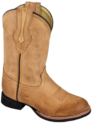 Smoky Mountain Toddler Showdown Leather Western Boot