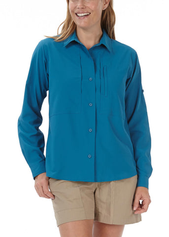 Royal Robbins Women's Expedition Stretch Long Sleeve