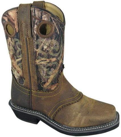 Smoky Mountain Children's Square Toe Pawnee Boot