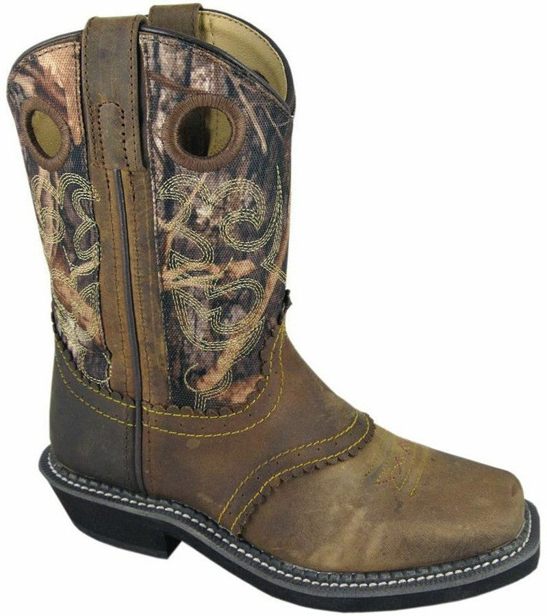 Smoky Mountain Youth Square Toe Pawnee Boot