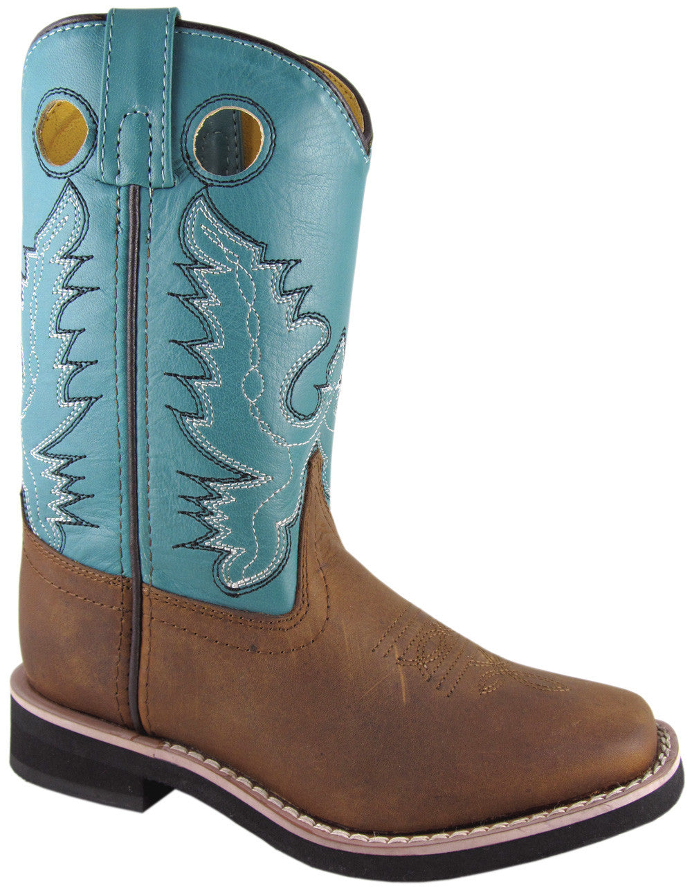 Smoky Mountain Youth Pueblo Leather Boot