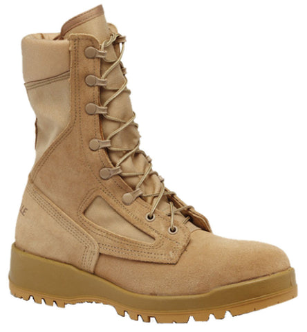 Belleville 390DES Men's Hot Weather Combat Boot - Tan