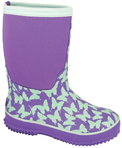 Smoky Mountain Children's Butterfly Amphibian Rubber Boot