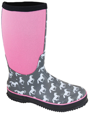 Smoky Mountain Women's Horses Amphibian Rubber Boot