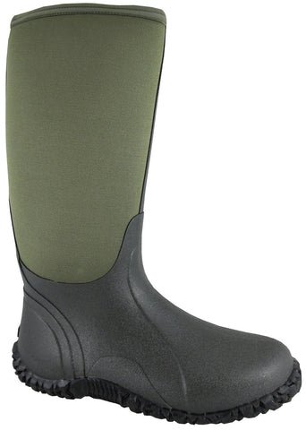 "Smoky Mountain Men's Green Amphibian 15"" Waterproof Boot"