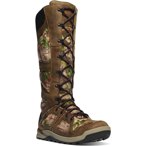"Danner Men's Steadfast Snake Boot 17"" Realtree Xtra Green Boots"