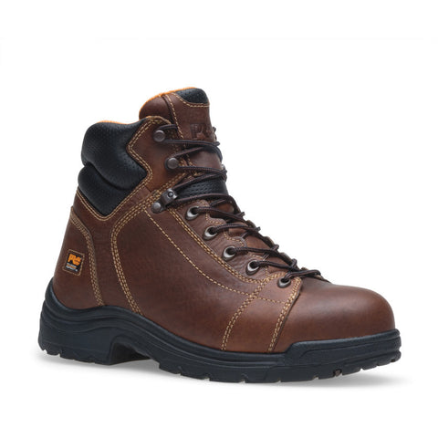 "Timberland PRO Men's 6"" TiTAN Lace-To-Toe Safety Toe Boot"