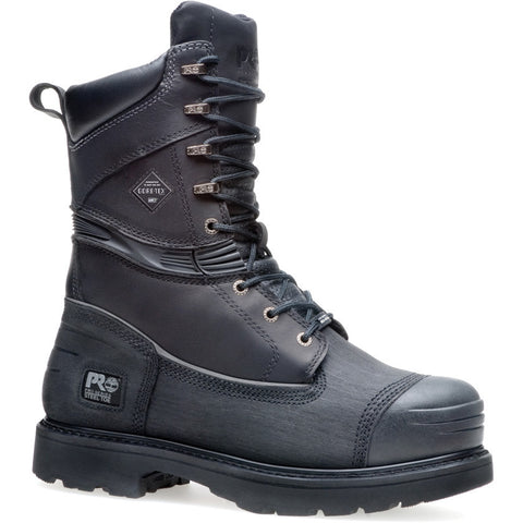 "Timberland PRO Men's 10"" Gravel Pit Mining Boot Steel Safety Toe Waterproof Insulated Boot"