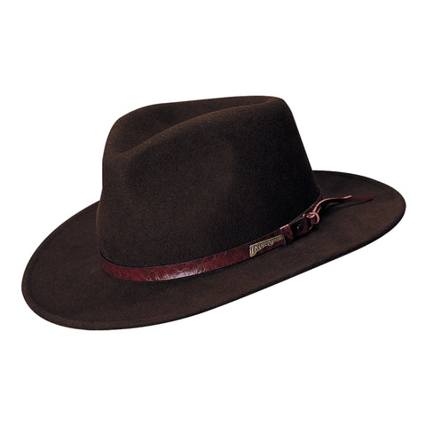 0904de7afcd25 Indiana Jones Men s Indy All Seasons Outback Fedoras