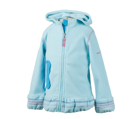 Obermeyer Kids Girl's Poppy Fleece Zip Hoodie
