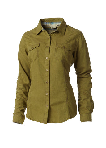 Royal Robbins Women's Sugar Pine Twill L/S Button Down Shirts