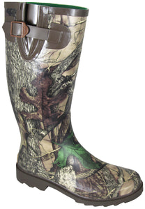 Smoky Mountain Women's Rubber/Amphibian Camo Stalker Boot