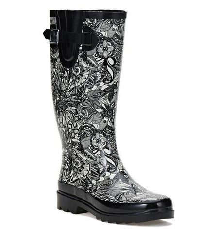 Sakroots Women's Rhythm Tall Rainboot