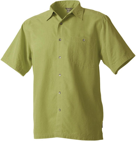 Royal Robbins Men's Mojave Desert Pucker Short Sleeve Polo Shirt