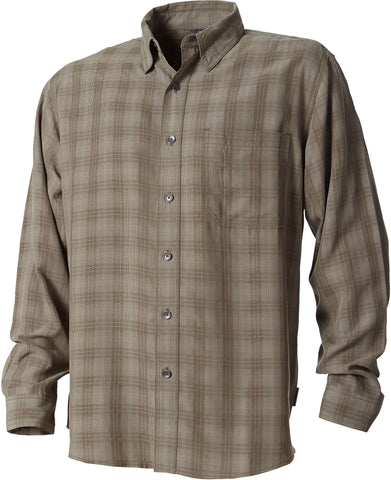 Royal Robbins Men's San Juan Plaid Long Sleeve Polo Shirt