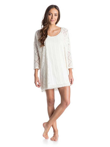 Roxy Women's Wishbone Crochet Tunic Dress