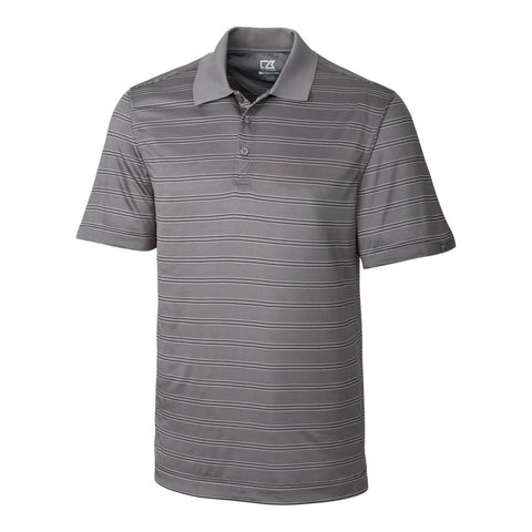 Cutter & Buck Men's CB DryTec Backspin Stripe Polo
