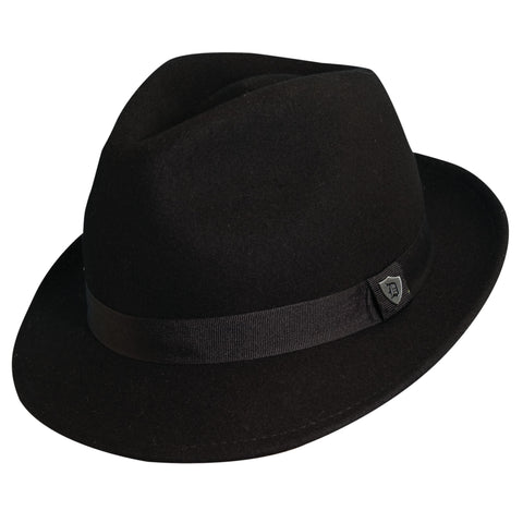 DPC 1921 Men's Wool Felt Snap Brim Fedoras