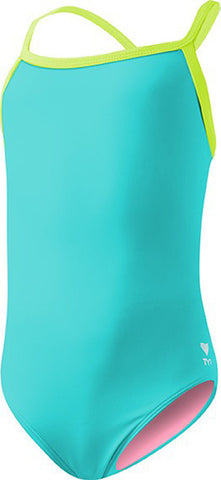 TYR Children's Solid Diamodfit Swimsuit